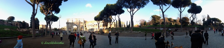 Panoramic Colosseum